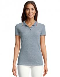 Women`s Heather Polo Shirt Paname
