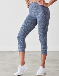 Ladies' Seamless Cropped Leggings