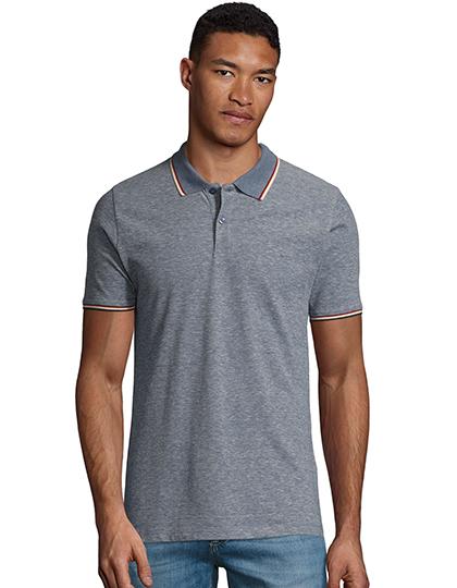 Men`s Heather Polo Shirt Paname